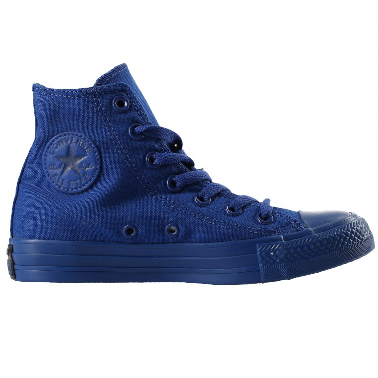converse all star canvas blu