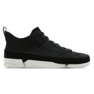 CLARKS - TRIGENIC FLEX BLACK NUBUCK